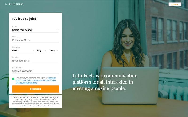 latinfeels site